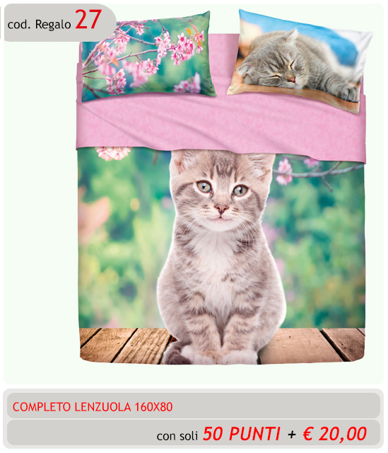 Completo Lenzuola CAT